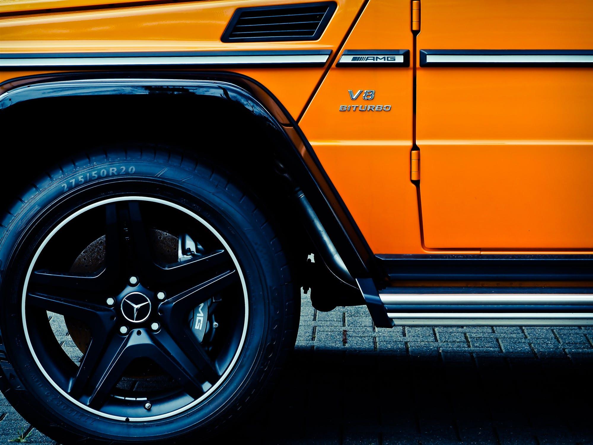 Mercedes suspension Glastonbury